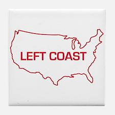 LEFT COAST Tile Coaster