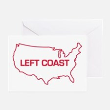 LEFT COAST Greeting Cards (Pk of 10)