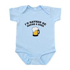 Having a Beer Infant Bodysuit