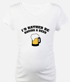 Having a Beer Shirt