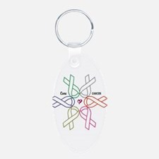 Cancer KILLS - Awareness CURES Keychains