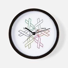 Cancer KILLS - Awareness CURES Wall Clock