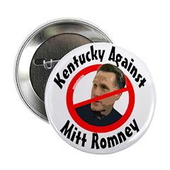 Kentucky Against Mitt Romney button