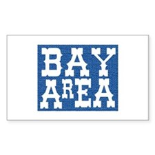 BAY AREA Rectangle Decal