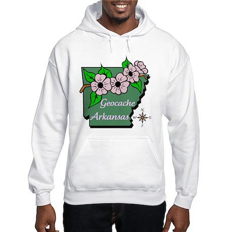 Geocache Arkansas Hooded Sweatshirt