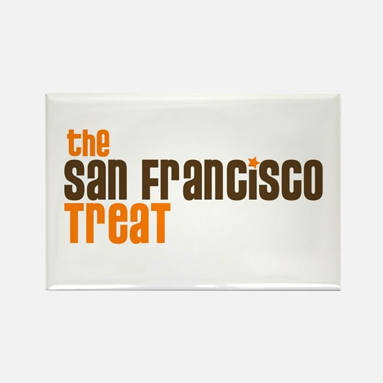 SF TREAT Rectangle Magnet