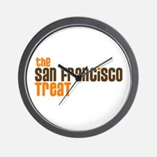 SF TREAT Wall Clock