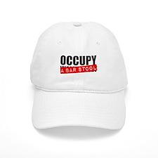 Occupy A Bar Stool Baseball Cap