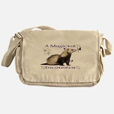 a magickal encounter Messenger Bag