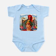 Alexander the Great Cigar Label Infant Bodysuit