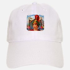 Alexander the Great Cigar Label Baseball Baseball Cap