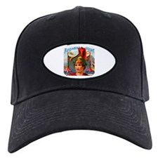Alexander the Great Cigar Label Baseball Hat