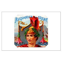 Alexander the Great Cigar Label Posters