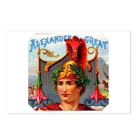 Alexander the Great Cigar Label Postcards (Package