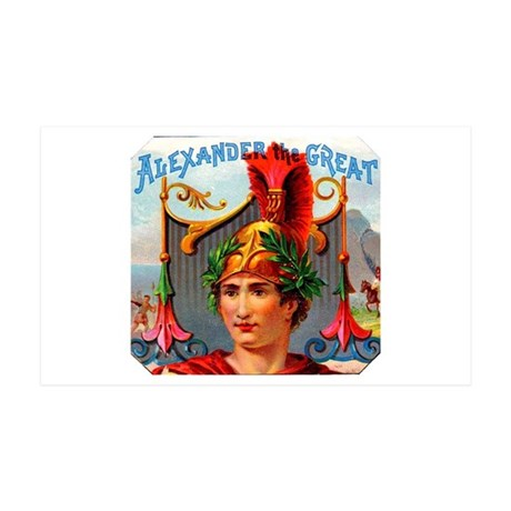 Alexander the Great Cigar Label 38.5 x 24.5 Wall P