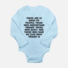 There are 10 kinds Long Sleeve Infant Bodysuit