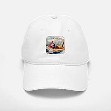 Yacht Club Cigar Label Baseball Baseball Cap
