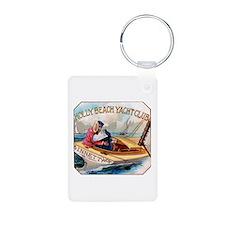 Yacht Club Cigar Label Keychains