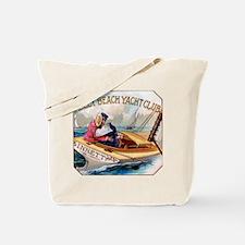 Yacht Club Cigar Label Tote Bag