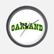 OAKLAND Wall Clock