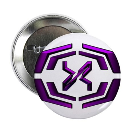 "XoO 2.25"" Button (100 pack)(Purple)"