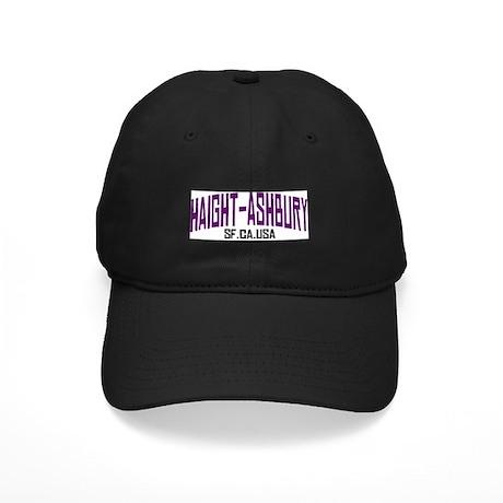 HAIGHT ASHBURY SF Black Cap