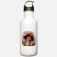 Buccaneer Cigar Label Water Bottle