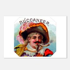 Buccaneer Cigar Label Postcards (Package of 8)