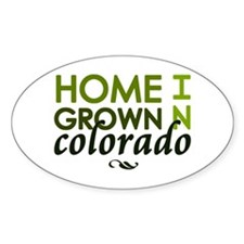 'Home Grown In Colorado' Decal