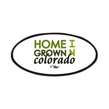 'Home Grown In Colorado' Patches