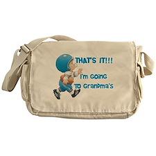 Going To Grandma's Messenger Bag