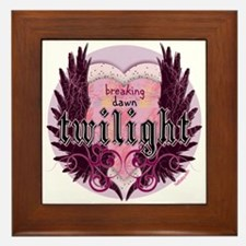 Must Have Breaking Dawn #5 by Twibaby Framed Tile