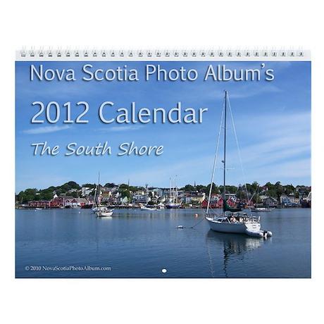 Nova Scotia Wall Calendar