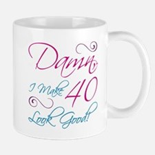 40th Birthday Humor Small Small Mug