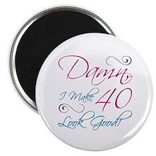 "40th Birthday Humor 2.25"" Magnet (10 pack)"