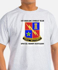 DUI - 1st BCT - Special Troops Battalion with Text