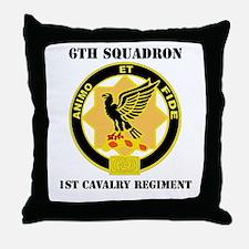 DUI - 6th Sqdrn - 1st Cav Regt with Text Throw Pil