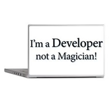 I'm a Developer not a Magicia Laptop Skins