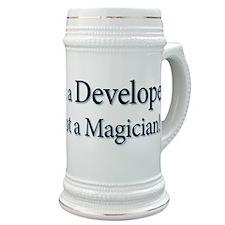 I'm a Developer not a Magicia Stein