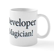 I'm a Developer not a Magicia Mug