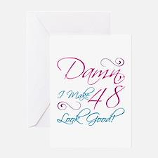 48th Birthday Humor Greeting Card