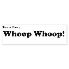 whoop whoop Bumper Bumper Bumper Sticker