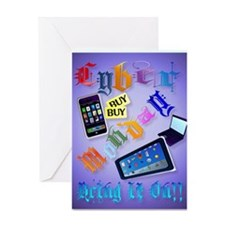 Cyber Monday-Bring It On!-2 Greeting Card