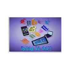 Cyber Monday-Bring It On!-2 Rectangle Magnet