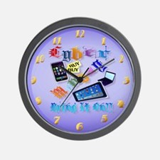 Cyber Monday-Bring It On!-2 Wall Clock