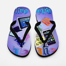 Cyber Monday-Bring It On!-2 Flip Flops