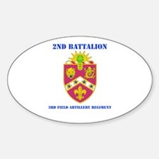DUI - 2nd Bn - 3rd FA Regt with Text Decal