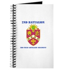 DUI - 2nd Bn - 3rd FA Regt with Text Journal