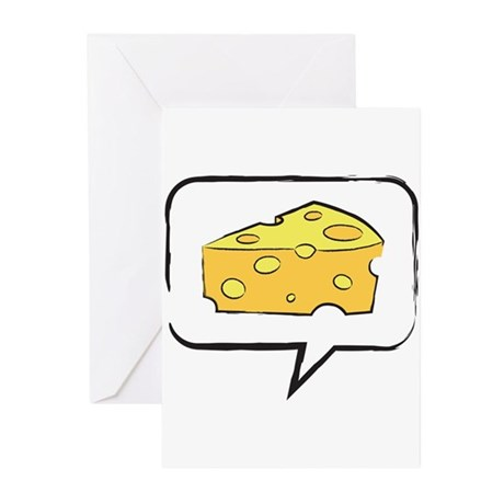 "WTD: Say ""CHEESE"" Greeting Cards (Pk of 10)"