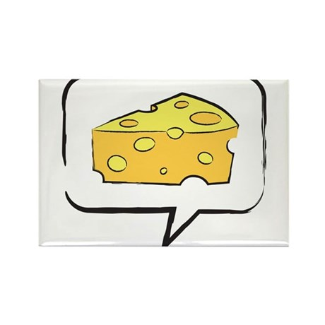 "WTD: Say ""CHEESE"" Rectangle Magnet (10 pack)"
